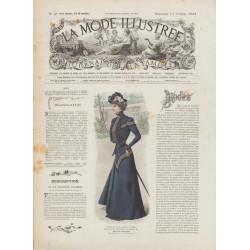 Complete magazine La Mode Illustrée 1901 N°41