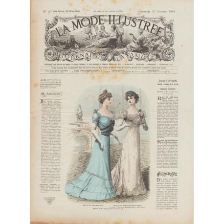Complete magazine La Mode Illustrée 1901 N°43