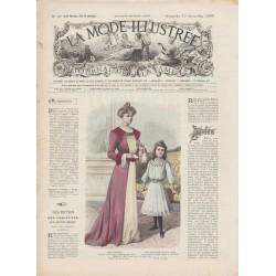Complete magazine La Mode Illustrée 1901 N°45
