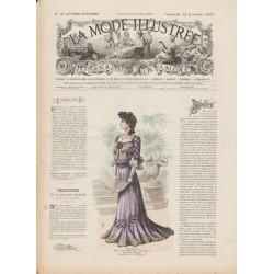 Complete magazine La Mode Illustrée 1901 N°47