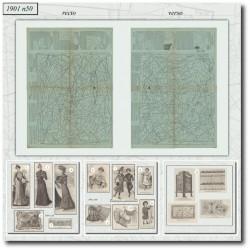Patrons de La Mode Illustrée 1901 N°47