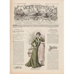 Revue complète de La Mode Illustrée 1901 N°50