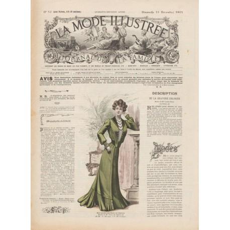 Complete magazine La Mode Illustrée 1901 N°50