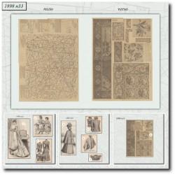 Patrons de La Mode Illustrée 1898 N°33