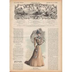 Complete magazine La Mode Illustrée 1898 N°33