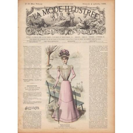 Complete magazine La Mode Illustrée 1898 N°36