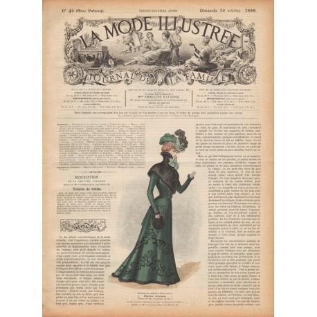 Complete magazine La Mode Illustrée 1898 N°42