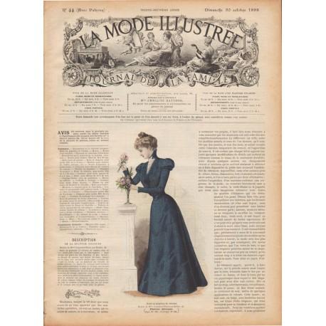 Complete magazine La Mode Illustrée 1898 N°44