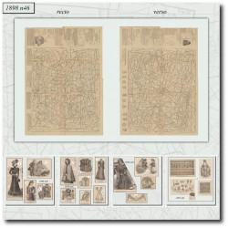 Sewing patterns La Mode Illustrée 1898 N°46