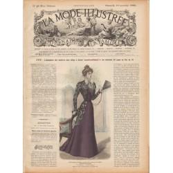 Revue complète de La Mode Illustrée 1898 N°46
