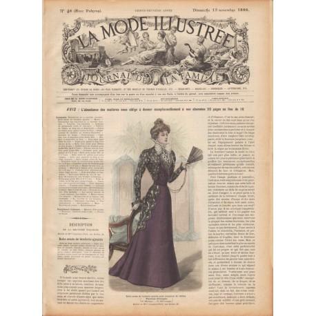 Habit de poupée victorienne 1898 N°46