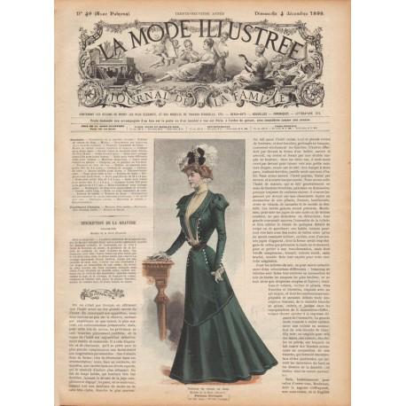 Complete magazine La Mode Illustrée 1898 N°49