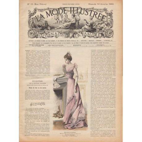 Complete magazine La Mode Illustrée 1898 N°51