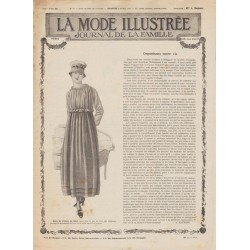 журнал мода La Mode Illustrée 1917 N°14