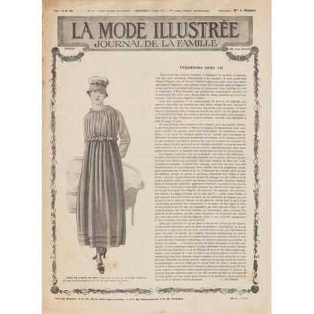 Complete magazine La Mode Illustrée 1917 N°14