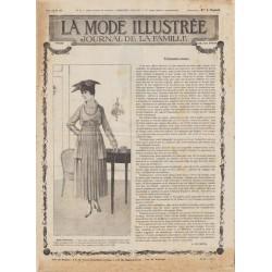 Patron de corset nouveau 1917 N°22