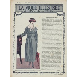 журнал мода La Mode Illustrée 1917 N°21