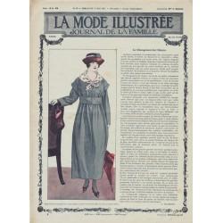 Revue complète de La Mode Illustrée 1917 N°21