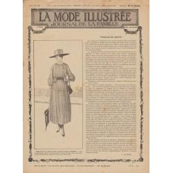 Revue complète de La Mode Illustrée 1917 N°24