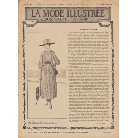 Complete magazine La Mode Illustrée 1917 N°24