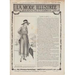журнал мода La Mode Illustrée 1917 N°26