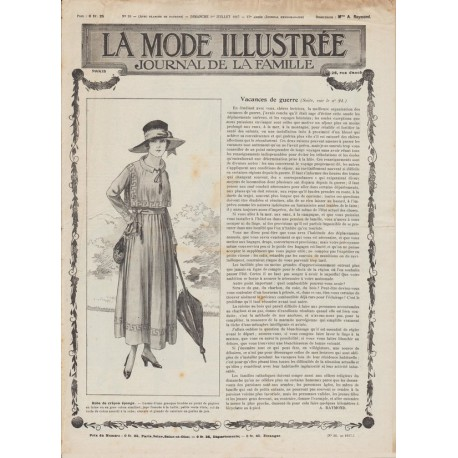 Magazine dresses 1917 N°26