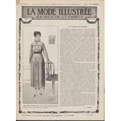 журнал мода La Mode Illustrée 1917 N°30