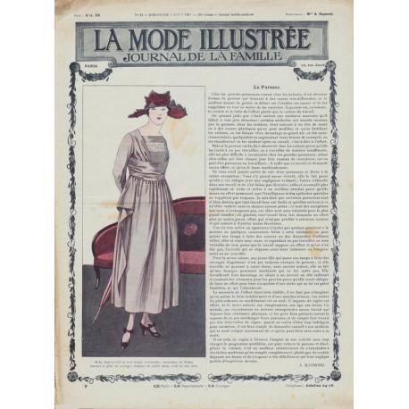 Complete magazine La Mode Illustrée 1917 N°31