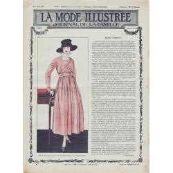 журнал мода La Mode Illustrée 1917 N°29