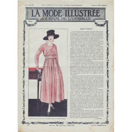 Complete magazine La Mode Illustrée 1917 N°29