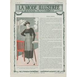 Complete magazine La Mode Illustrée 1917 N°33