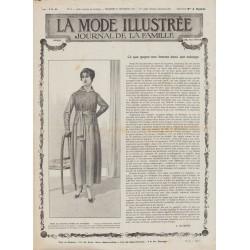 Revue complète de La Mode Illustrée 1917 N°38