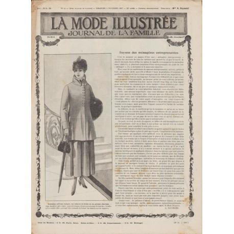 Complete magazine La Mode Illustrée 1917 N°44