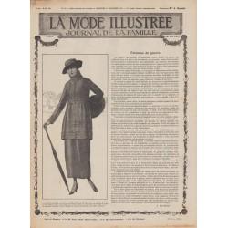 Complete magazine La Mode Illustrée 1917 N°50
