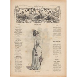 Revue complète de La Mode Illustrée 1909 N°10