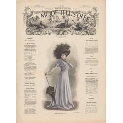 Complete magazine La Mode Illustrée 1909 N°12