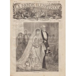 Revue complète de La Mode Illustrée 1880 N°07
