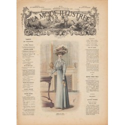 Revue complète de La Mode Illustrée 1909 N°02