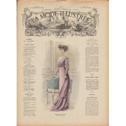 Complete magazine La Mode Illustrée 1909 N°06