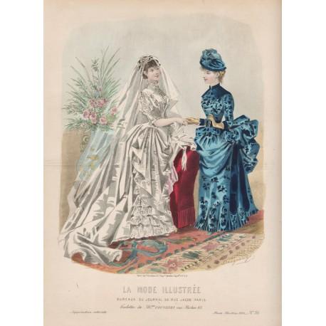 La Mode Illustrée 1884 36
