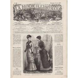 Revue complète de La Mode Illustrée 1880 N°20