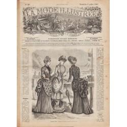 Revue complète de La Mode Illustrée 1883 N°27