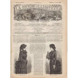 Complete magazine La Mode Illustrée 1883 N°33