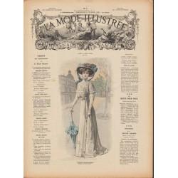 Revue complète de La Mode Illustrée 1909 N°07