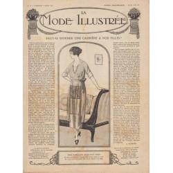 Revue complète de La Mode Illustrée 1919 N°10