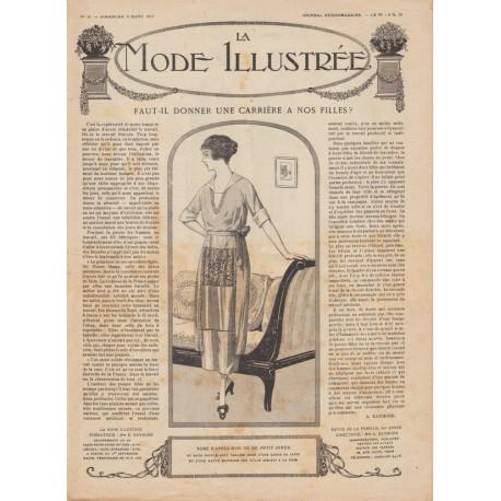 Complete magazine La Mode Illustrée 1919 N°10