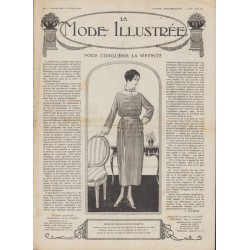 журнал мода La Mode Illustrée 1919 N°06