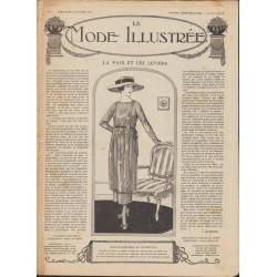 журнал мода La Mode Illustrée 1919 N°08