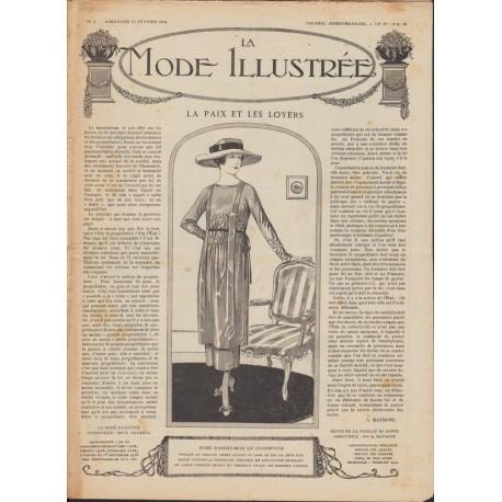 Complete magazine La Mode Illustrée 1919 N°08