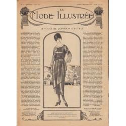 журнал мода La Mode Illustrée 1919 N°14